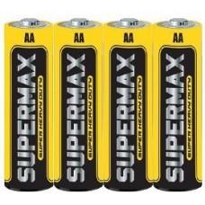 Бат. АА 1,5V, соль, Supermax