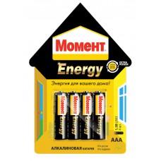 Бат. ААА 1,5V, алкалин, Момент Energy