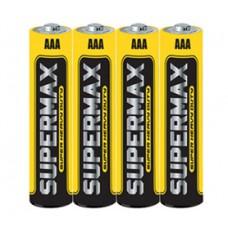 Бат. ААА 1,5V, соль, Supermax