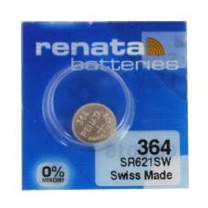 Бат. AG1, SR621SW,364, Renata