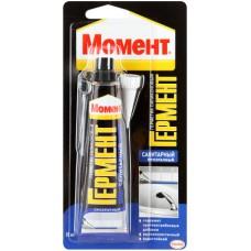 Герметик силик,85мл,санитарный, прозрачный,Гермент