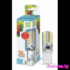 Лампа LED G9, 3Вт, 220В 4000К ASD