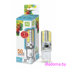 Лампа LED G9, 5Вт, 220В 4000К ASD