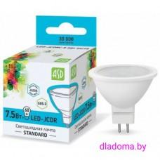 Лампа LED GU 5.3 7,5Вт 220В 4000К ASD