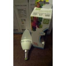 Лампа LED Е14 Свеча 7,5Вт,220V 4000К ASD