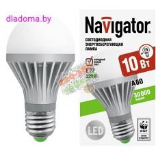 Лампа LED Е27 10Вт 4000К Navigator