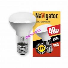 Лампа R63 40Вт, Е27 Navigator