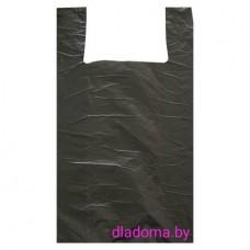 Пакет майка 300*550  черные