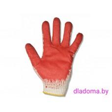 Перчатки 1 облив (красные)