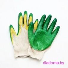 Перчатки 2 облив (зеленые)