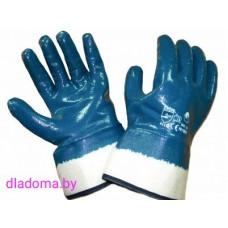 Перчатки нитриловые, крага