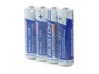 Батарейка АА 1,5V, солевая, ROBITON